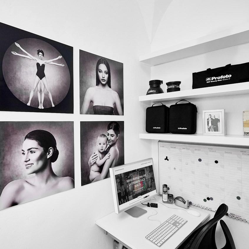 Mini Studio Fotografico Attrezzato