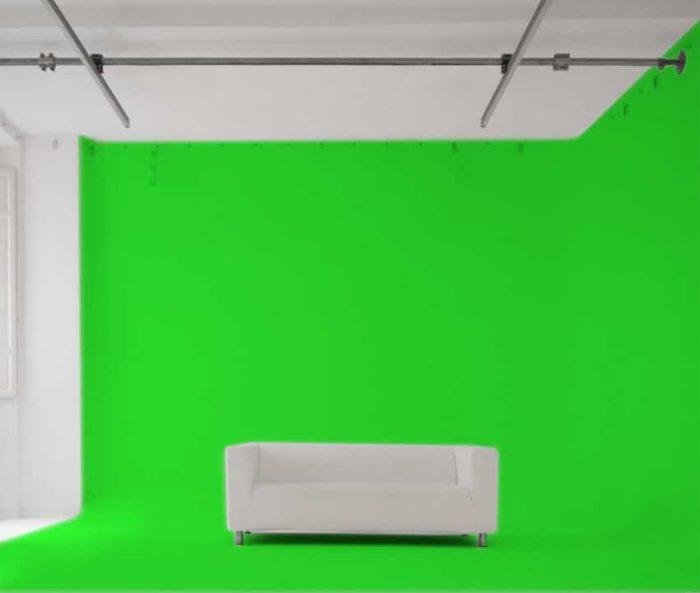 Studio Fotografico con Limbo Green Screen